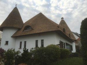 Afgerond project rieten dak met minaret | Rietdekkersbedrijf Scholman