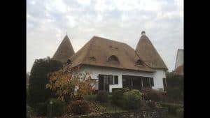 Afgerond project, rieten dak met minaret | Rietdekkersbedrijf Scholman